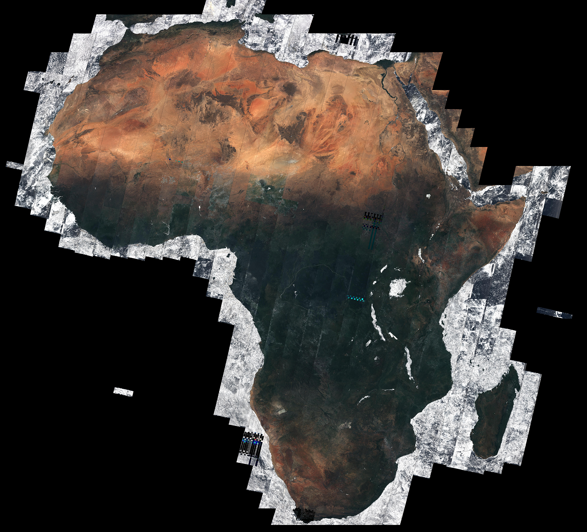 African data , Mosiac